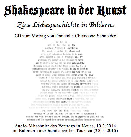 cd cover shakespeare in der kunst